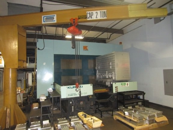 KURAKI-KHM-125-4-AXIS-CNC-Horizontal-Machining-Center