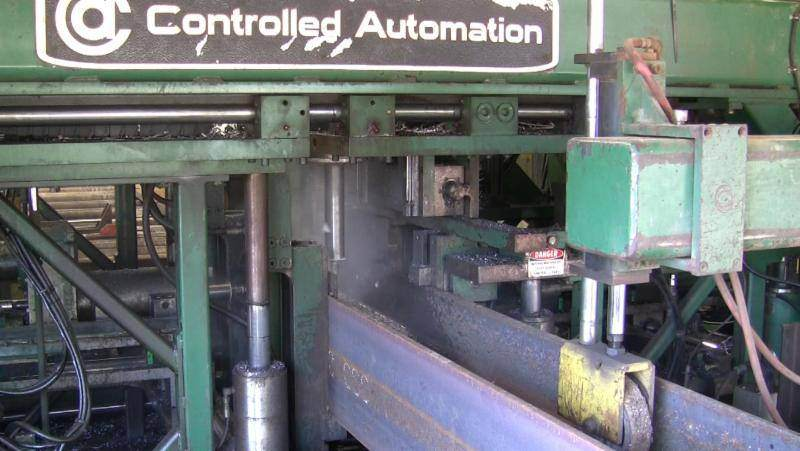 Controlled-Automation-DRL-344-CNC-Beam-Drill-With-Tandem-Hem-WF140-Saw