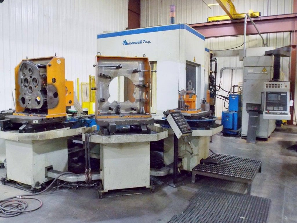 MANDELLI-7-Type-U-400-CNC-Vertical-Horizontal-Machining-Center