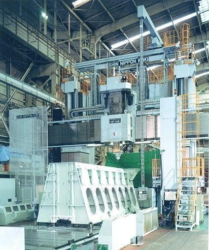 SNK-HF-10M-CNC-Bridge-Type-Milling-Machine