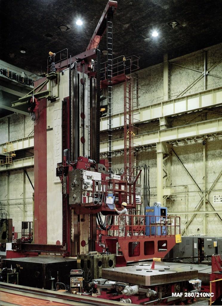Mitsubishi-MAF-280-210-8.27-CNC-Floor-Type-Horizontal-Boring-Mill
