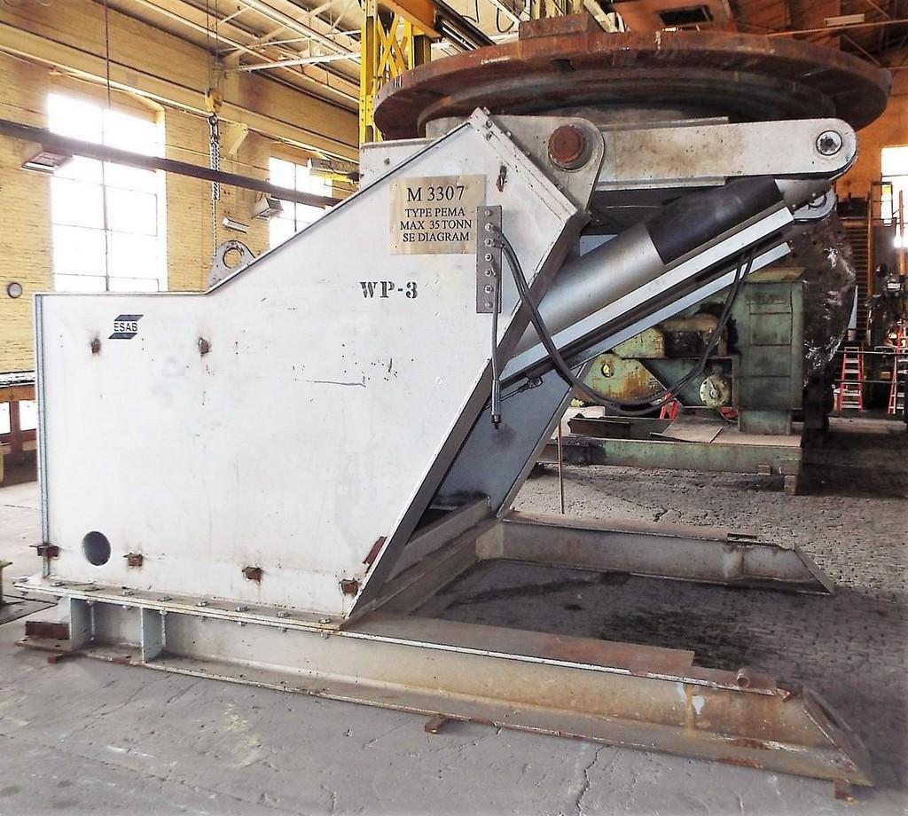 ESAB-PEMA-35000F-78500-Lbs-Hydraulic-Welding-Positioner
