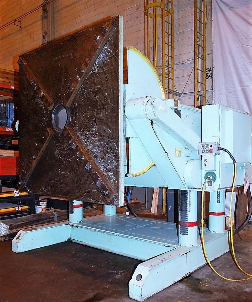 Aronson-GE-500EDC-50000-Lb-Geared-Elevation-Welding-Positioner