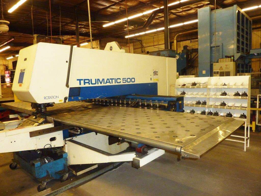 Trumpf-25-Ton-TC-500-CNC-Punch-And-Contour-Machine