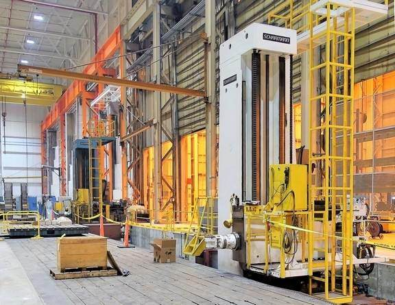 (2)-5.9-Scharmann-Heavy-Cut-2-WFT-150-Travelling-Column-Horiz.-Boring-Mills