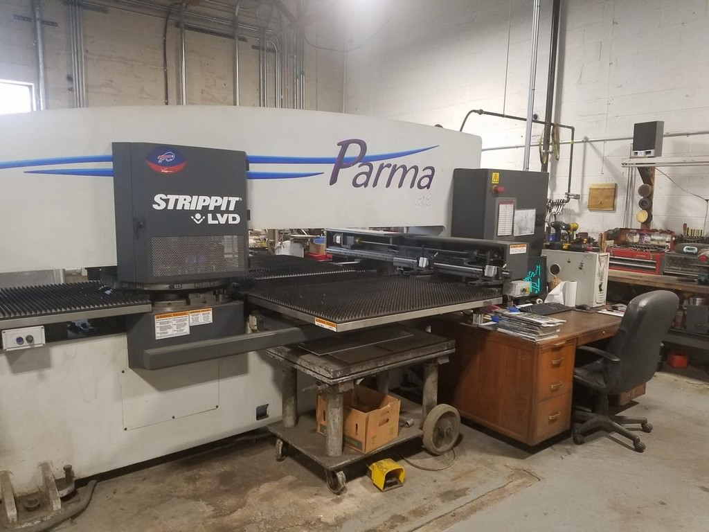 Strippit-22-Ton-Parma-1212-CNC-Turret-Punch-Press