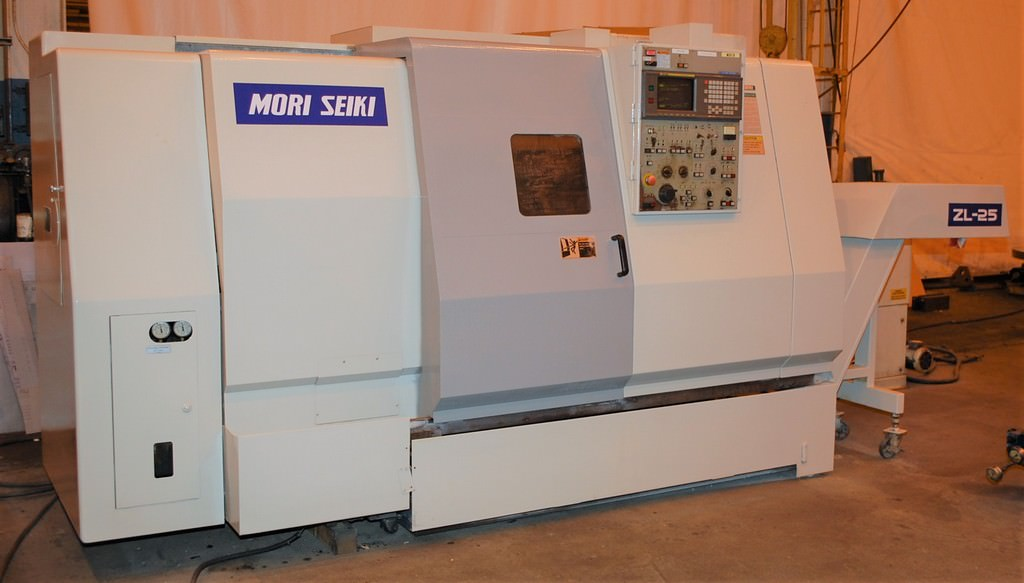 Mori-Seiki-ZL-25-CNC-Slant-Bed-Turning-Center
