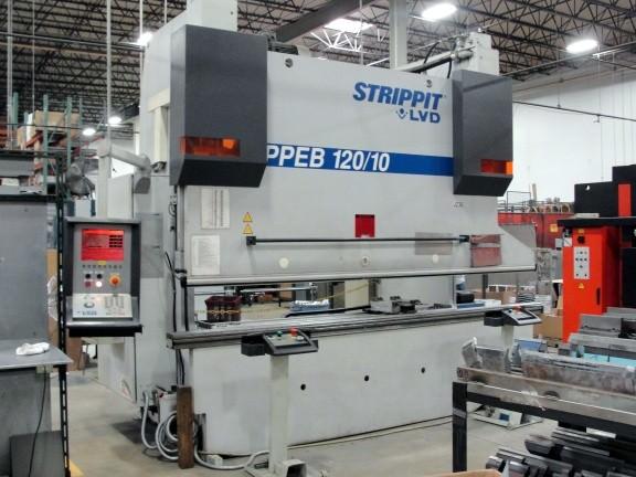 LVD-120-Ton-PPEB-120-10-8-Axis-CNC-Hydraulic-Press-Brake