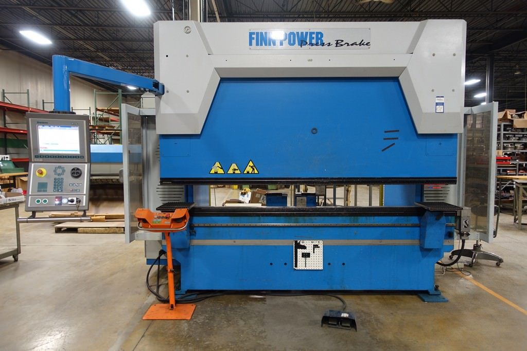 Finn-Power-B125-3060-GE-UH6-138-Ton-8-Axis-CNC-Press-Brake