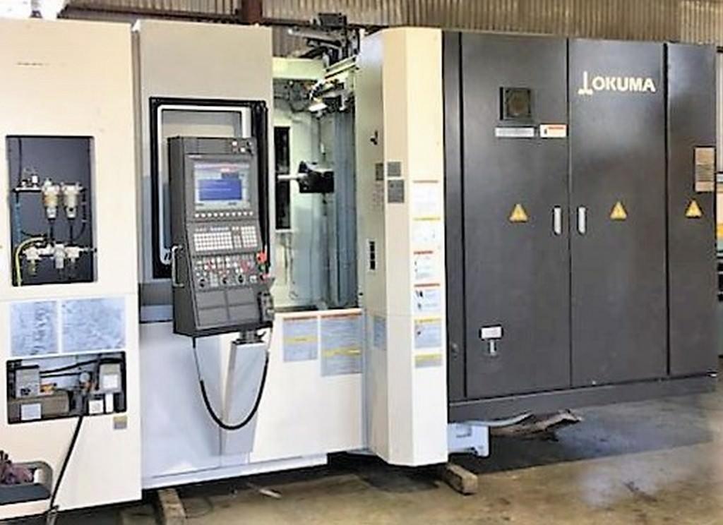 Okuma-MB-4000H-4-Axis-CNC-Horizontal-Machining-Center