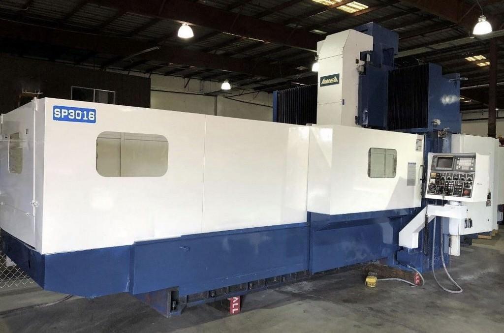 AWEA-SP-3016-CNC-Double-Column-Vertical-Machining-Center