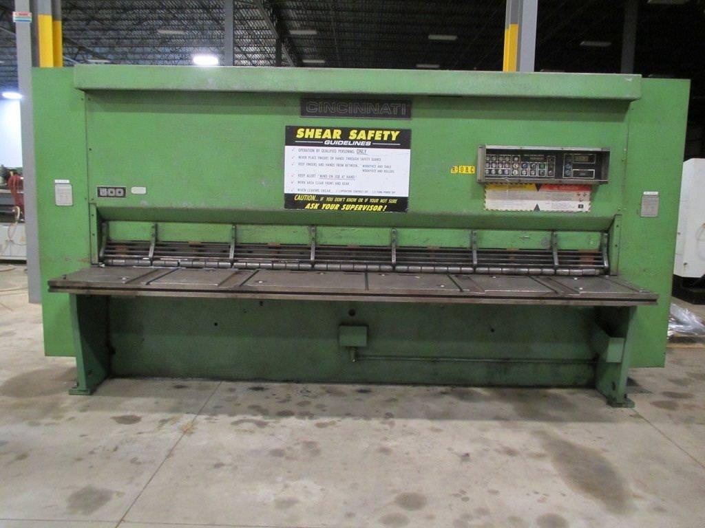 Cincinnati-Series-500-x-12-1-2-X-12-Hydraulic-Plate-Shear