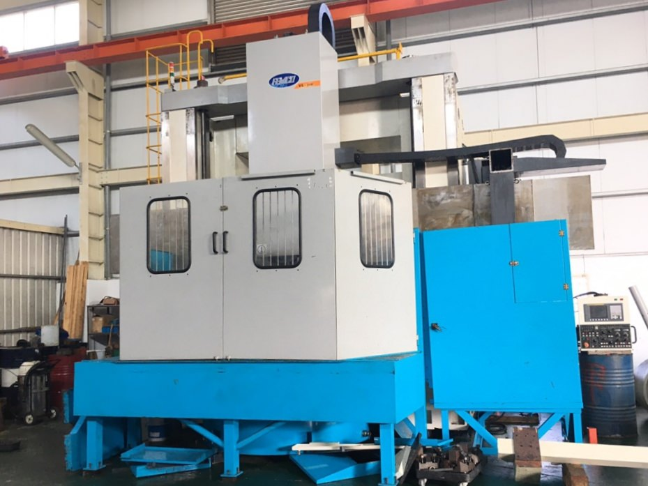 Femco-VL-25M-CNC-Vertical-Boring-Mill-with-Live-Milling