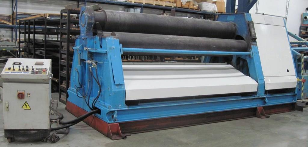 Davi-MCB-3037-4-Roll-Hydraulic-Double-Pinch-Plate-Bending-Roll