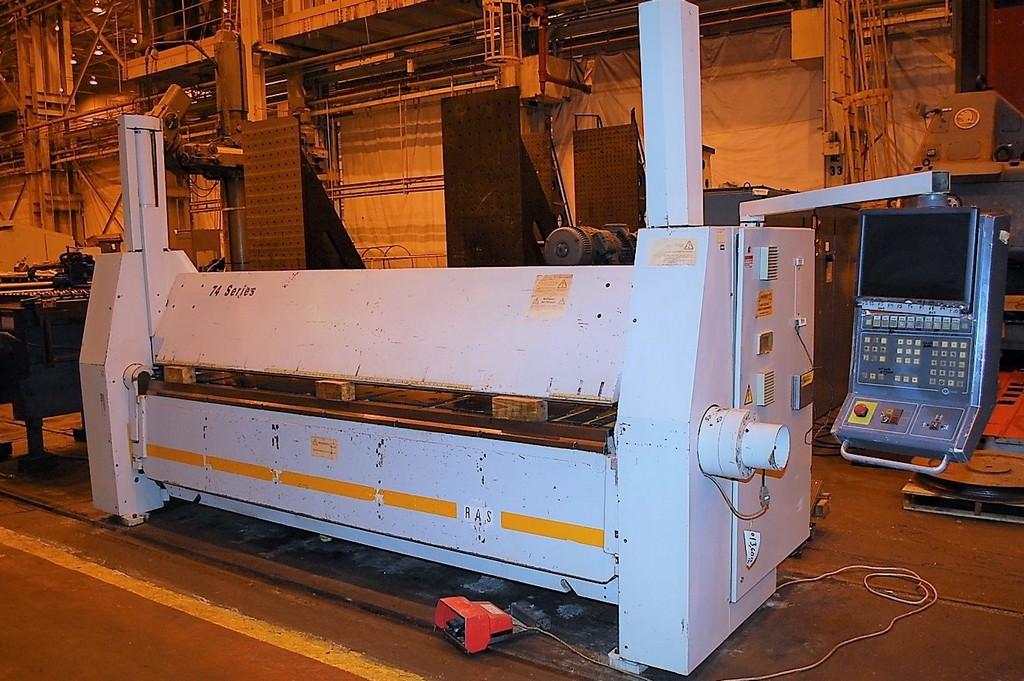 RAS-74.30-126-X-9-Gauge-Hydraulic-CNC-Folding-Machine