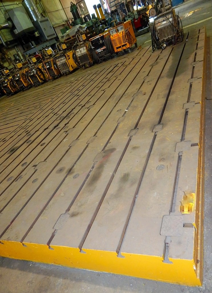 288-x-84-T-Slotted-Cast-Iron-Floor-Plate