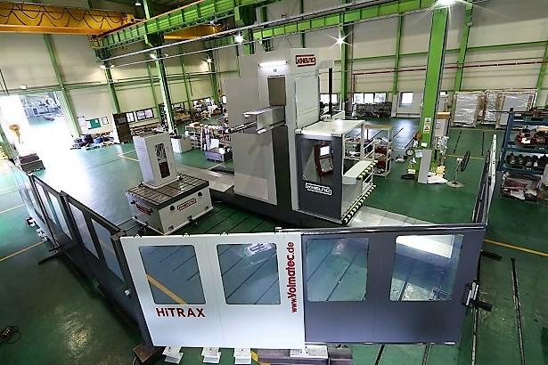 Kiheung-HiTrax-H-5.12-Ram-CNC-Floor-Type-Horizontal-Boring-Mill