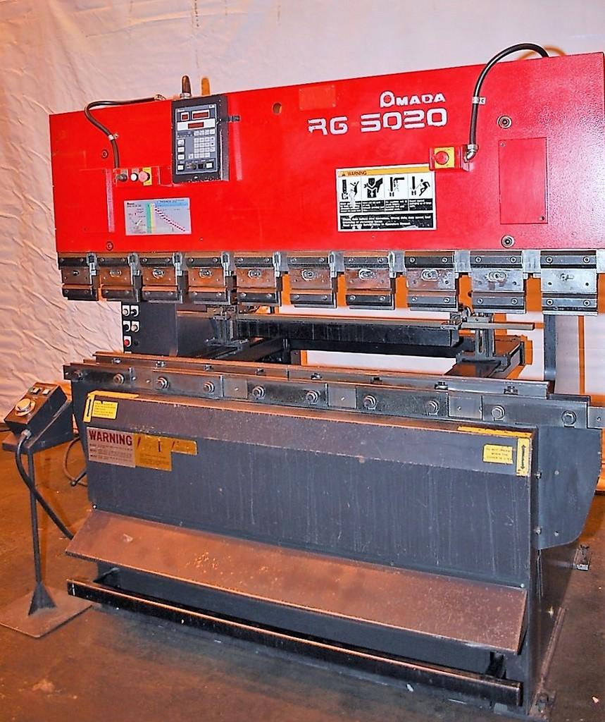 Amada-RG-5020LD-55-Ton-x-6-2-Axis-CNC-Upacting-Press-Brake