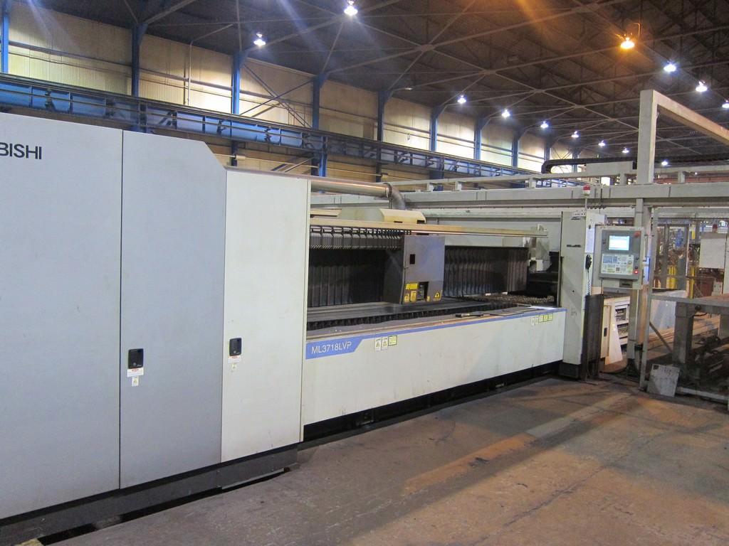 Mitsubishi-ML-3718-LVP-Plus-4000-Watt-CNC-Laser