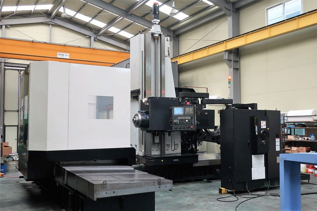 Doosan-DBC-130L-CNC-Table-Type-Horizontal-Boring-Mill