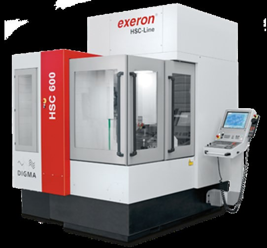 EXERON-HSC600-CNC-5-Axis-High-Speed-Vertical-Machining-Center