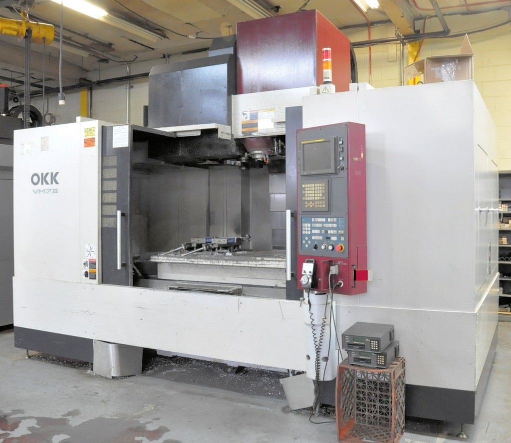 OKK-VM7-III-CNC-Vertical-Machining-Center