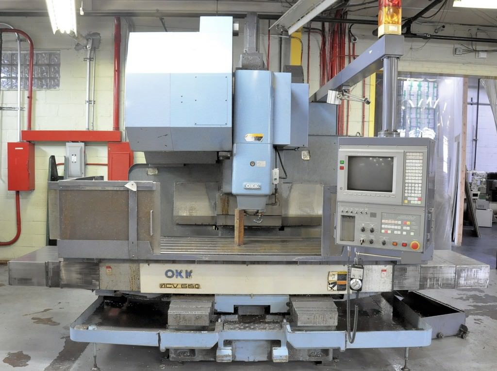 OKK-MCV-660-CNC-Vertical-Machining-Center