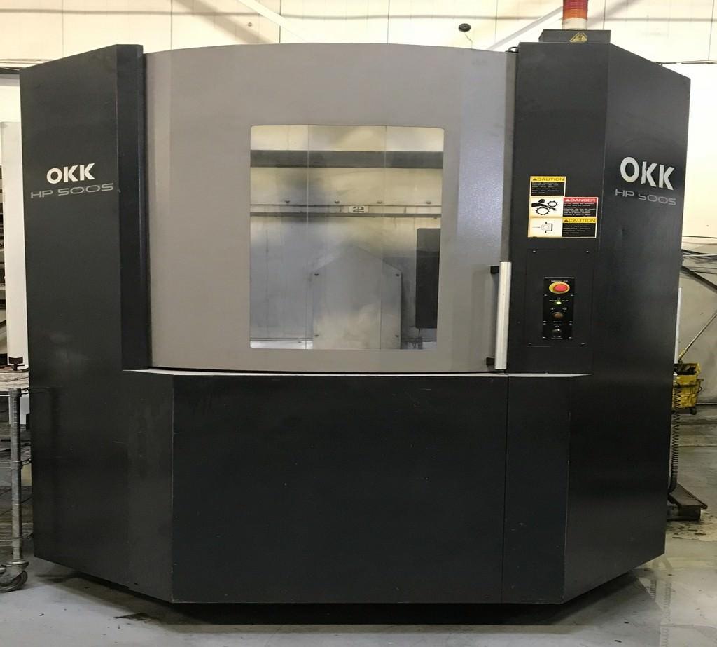 OKK-HP-500S-4-Axis-CNC-Horizontal-Machining-Center