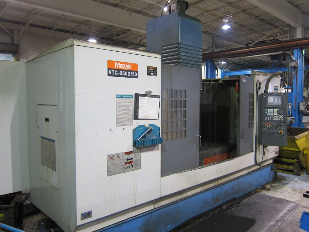 MAZAK-VTC-250D-Vertical-Machining-Center