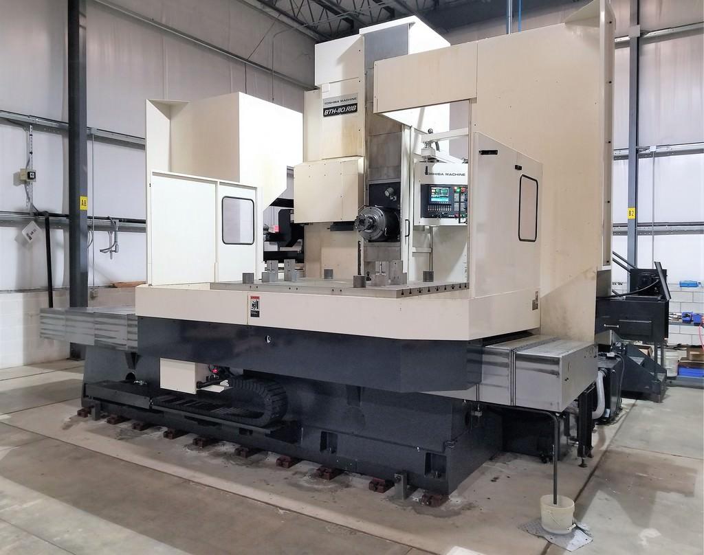 Toshiba-BTH-110.R18-CNC-Table-Type-Horizontal-Boring-Mill
