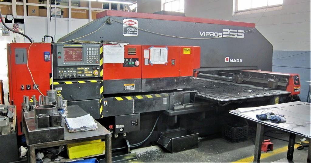 AMADA-Vipros-255-22-Ton-Hydraulic-CNC-Turret-Punch-Press
