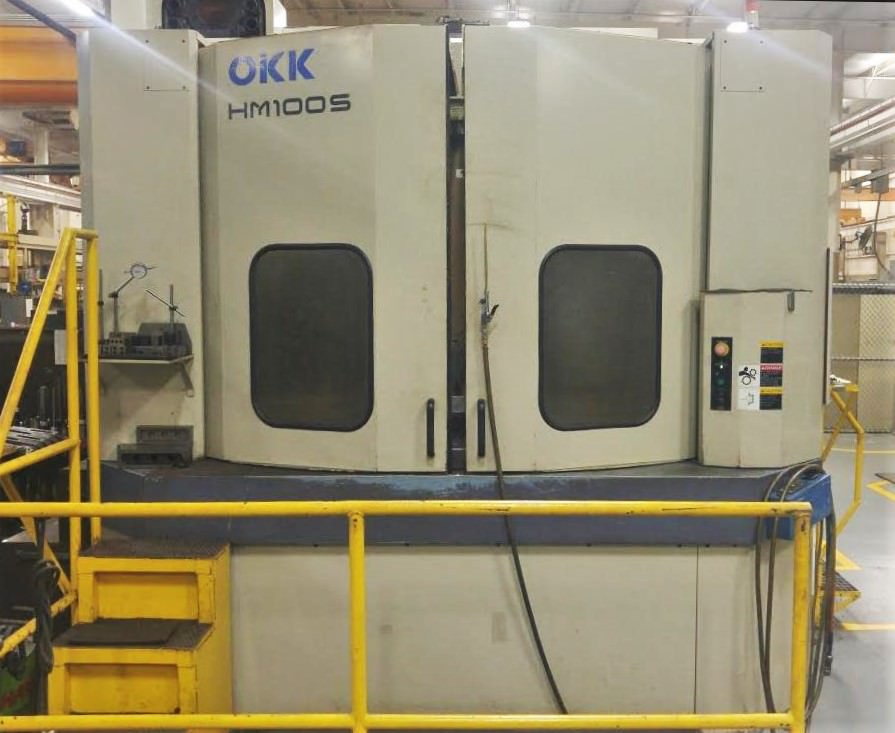 OKK-HM-100S-CNC-Horizontal-Machining-Center