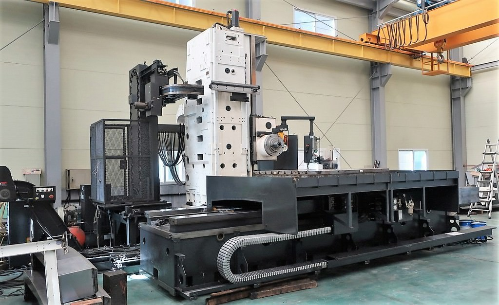 Hyundai-Wia-KBN-135C-5.3-CNC-Table-Type-Horizontal-Boring-Mill