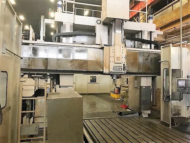 OKUMA-5-Face-CNC-Double-Column-Machining-Center