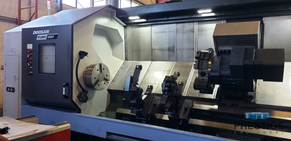 DOOSAN-Puma-600LY-CNC-Turning-Center-With-Live-Milling