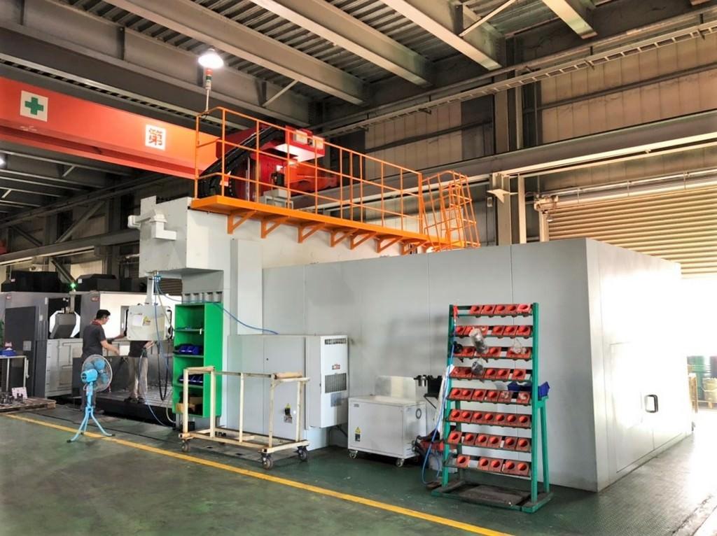 AWEA-LP-5033YZF-CNC-Bridge-Type-5-Face-Vertical-Machining-Center