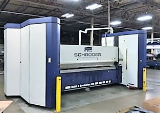 Schroder-MAK-4-EVO-32000-6.0-UD-.236-x-128-Up-Down-CNC-Folding-Machine