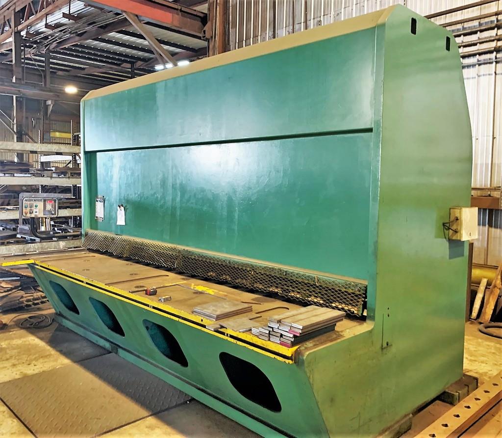 Accurshear-875012-3-4-x-144-Hydraulic-Plate-Shear