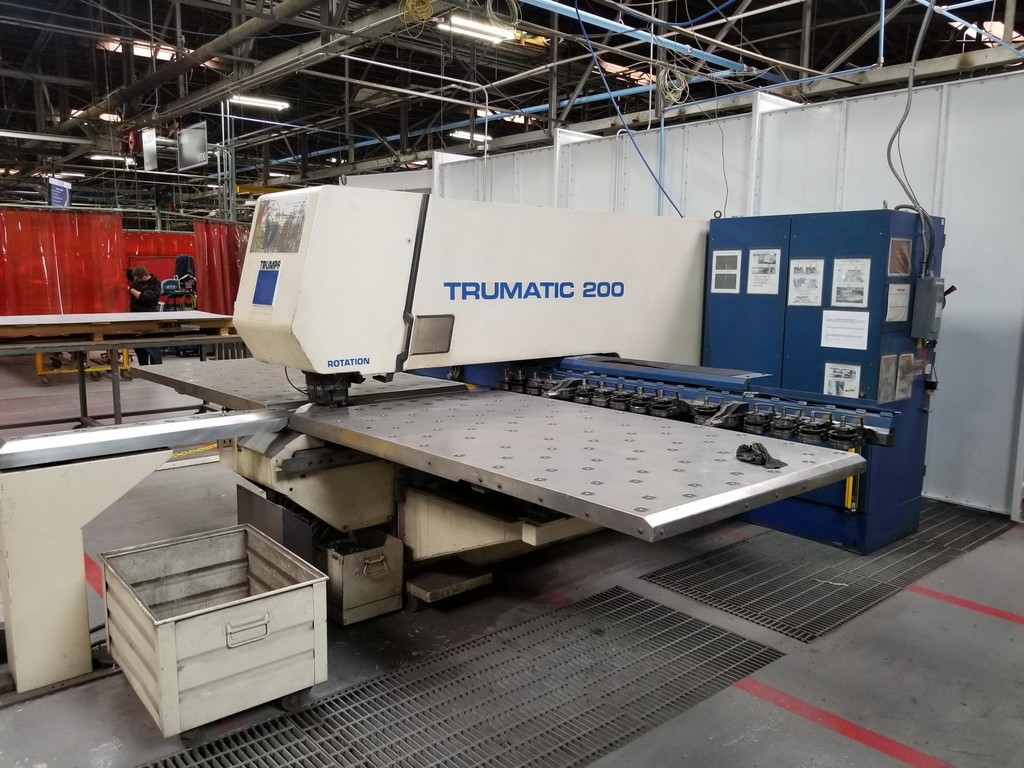 Trumpf-TC-200R-CNC-Punch-And-Contouring-Machine
