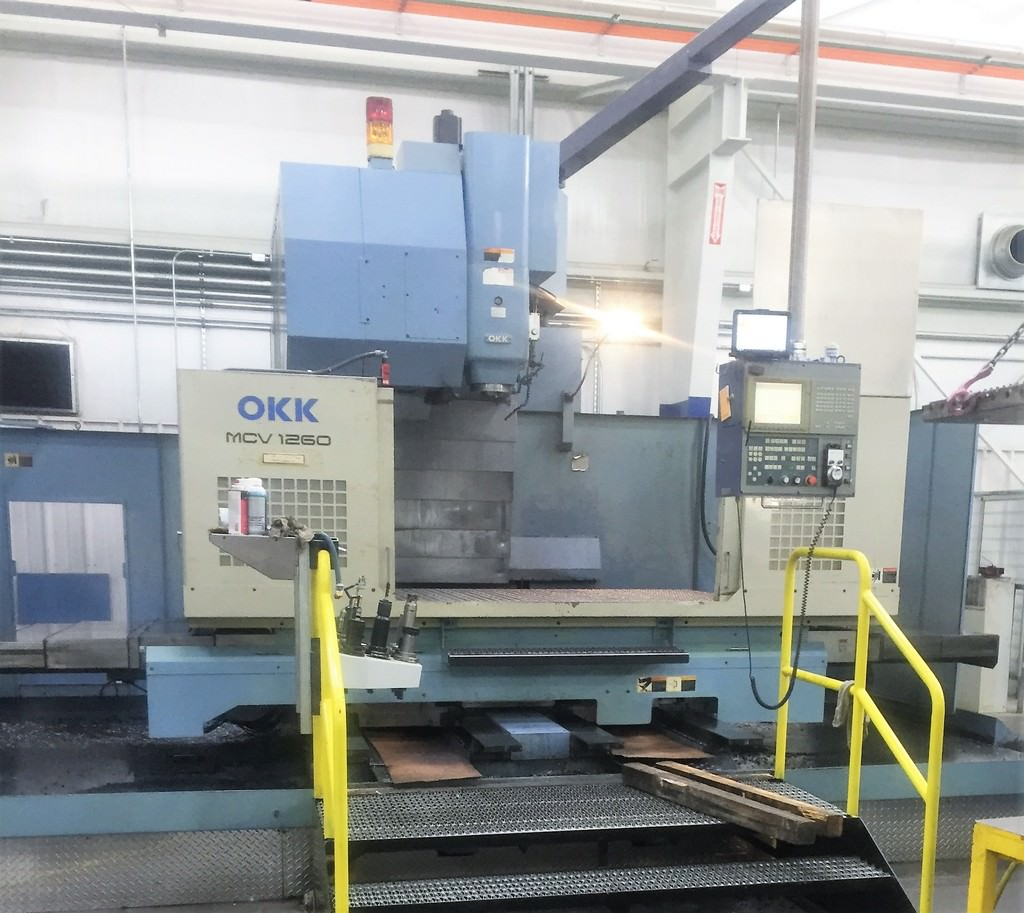 OKK-MCV-1260-CNC-Vertical-Machining-Center