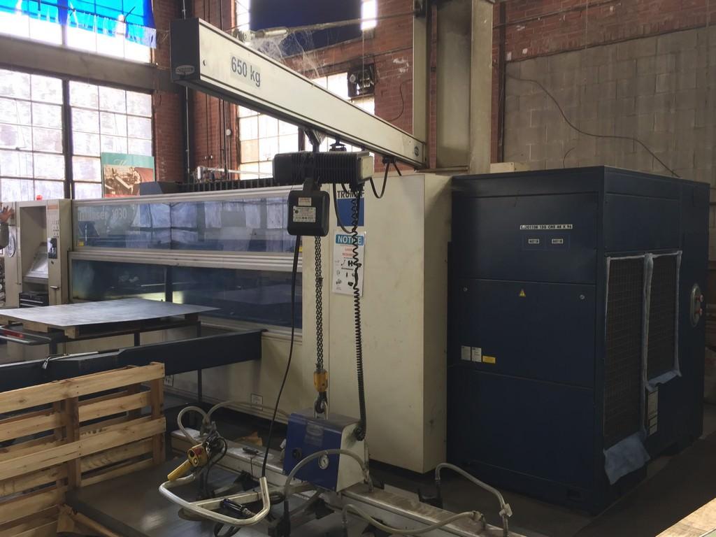Trumpf-2000-Watt-TruLaser-1030-CNC-Flying-Optic-Laser