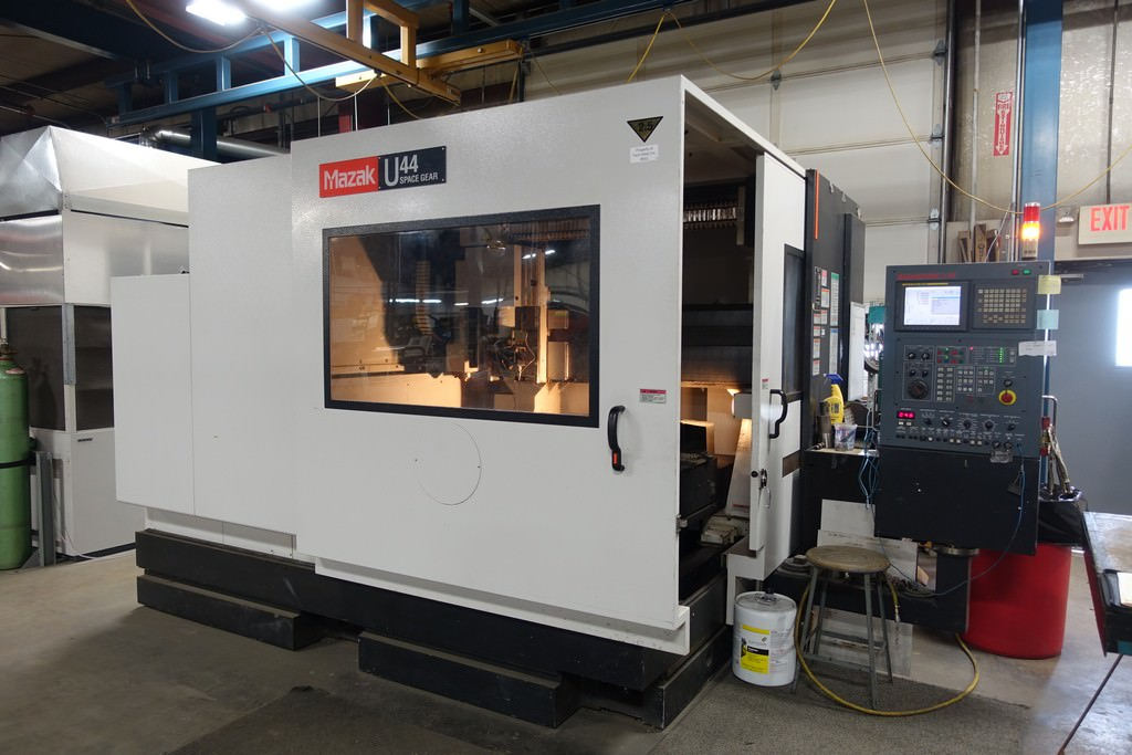 Mazak-Space-Gear-U44-6-Axis-Laser-with-Rotary-Axis