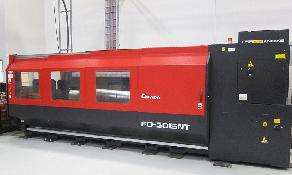 AMADA-FO-3015NT-4000-Watt-Flying-Optic-C02-CNC-Laser