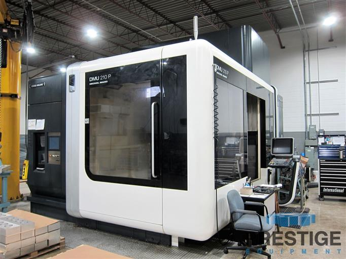 DMG-DMU-210P-5-Axis-Portal-Type-CNC-Machining-Center