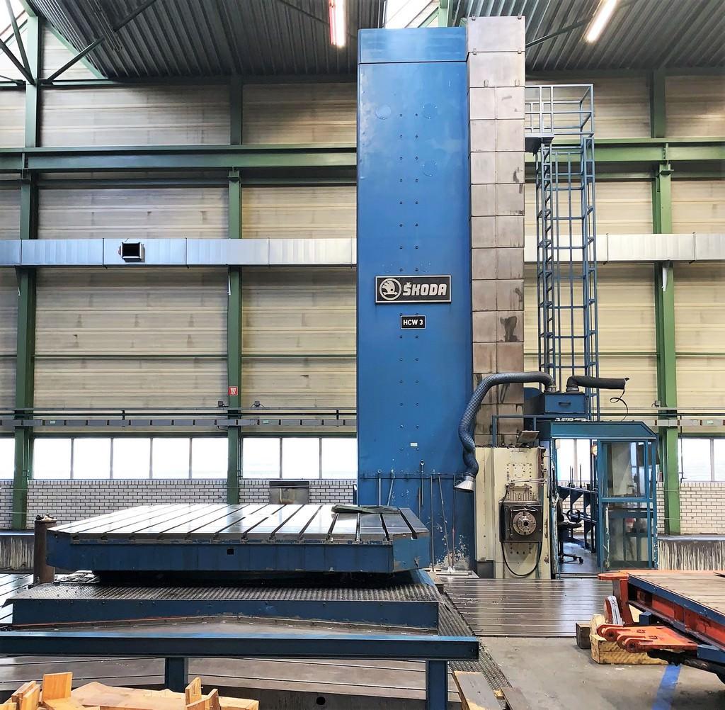 Skoda-HCW3-225NC-8.85-Ram-Type-CNC-Floor-Type-Horizontal-Boring-Mill