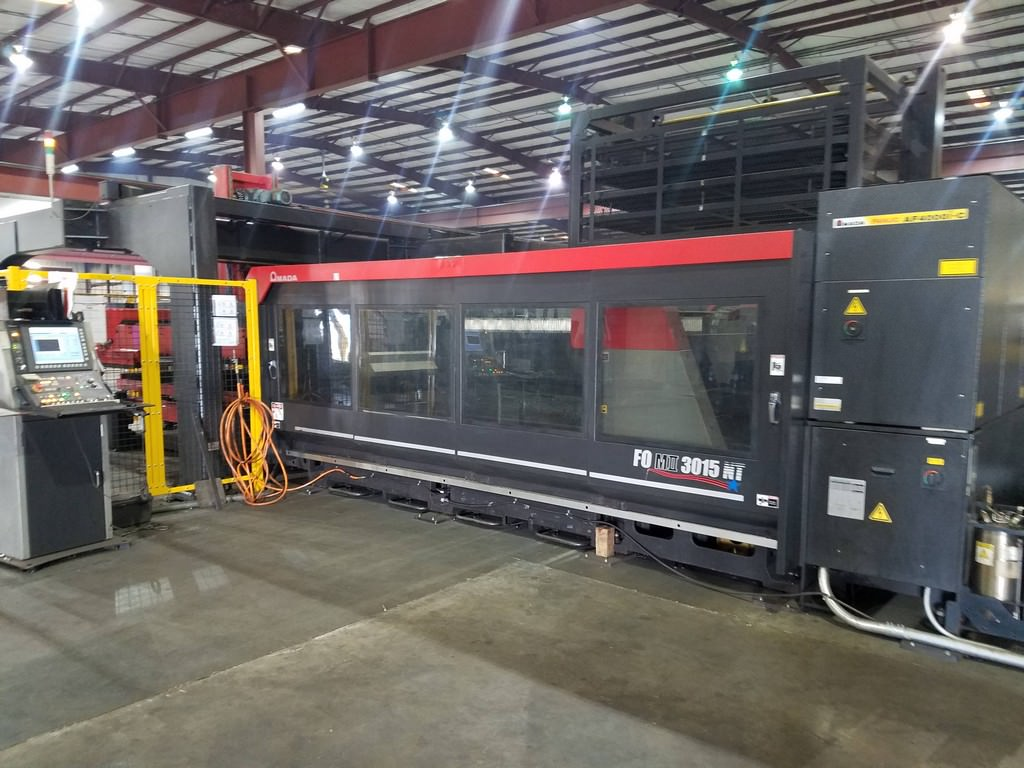 AMADA-FO-MII-3015NT-4KW-Laser-W-Loader-&-Tower