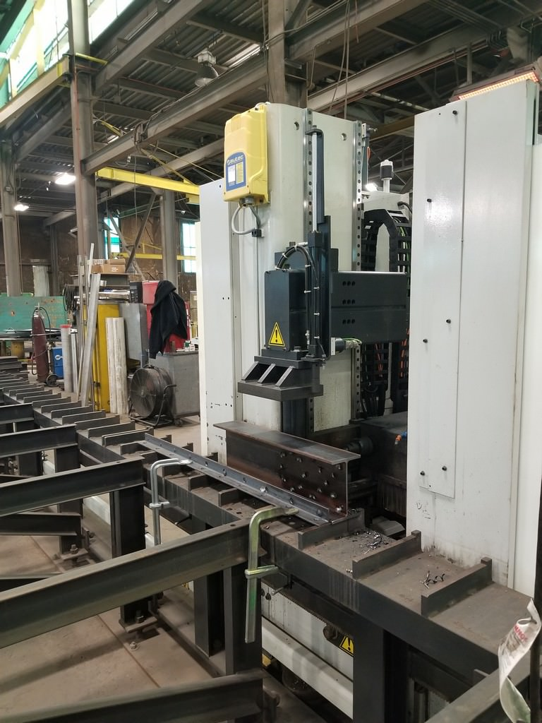 Ficep-Victory-11DX-CNC-Single-Spindle-Traveling-Column-Drill