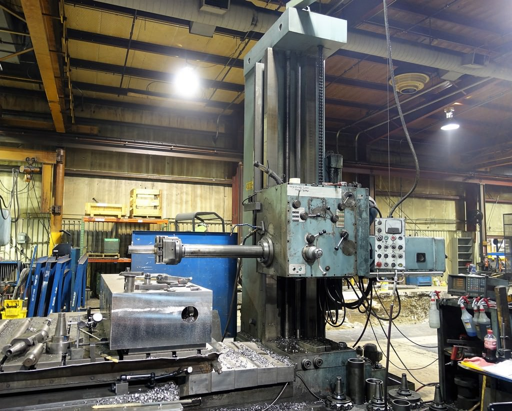 Supermill-MDR125-5-Table-Type-Horizontal-Boring-Mill