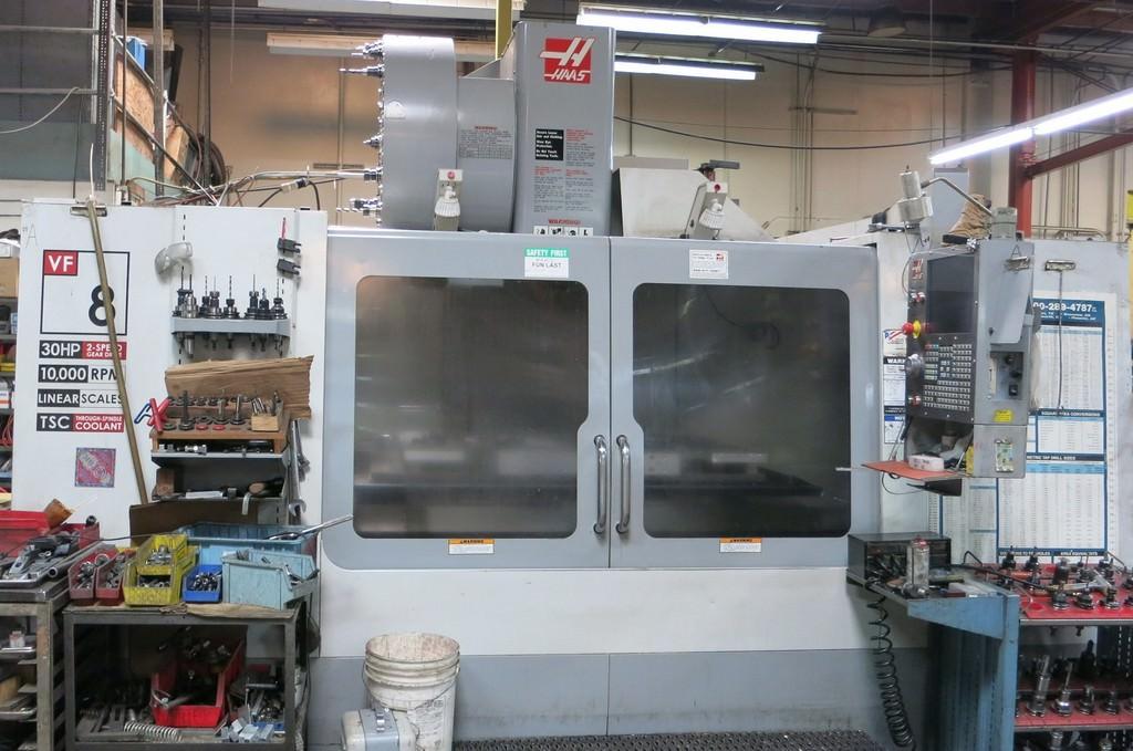 HAAS-VF-8-4-Axis-CNC-Vertical-Machining-Center