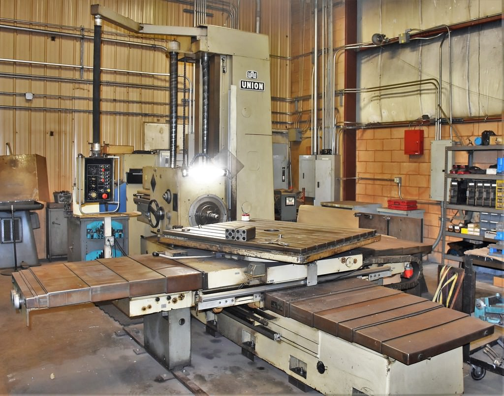 Union-BFT90-3-3.54-Table-Type-Horizontal-Boring-Mill